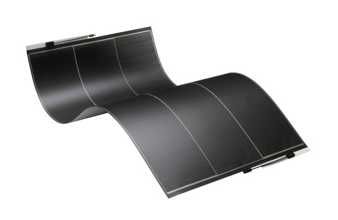 Flexible solar panel: flexible solar cells are just one example of a technology that stands to benefit from this discovery. Image from solopower.com.