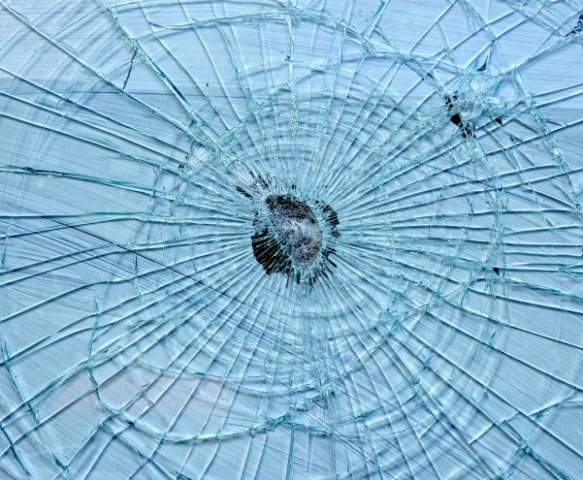 Safety Glass Used in Windshields Keeps Shattered Glass from Scattering