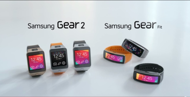 Introducing The Samsung Gear 2 and Gear Fit.