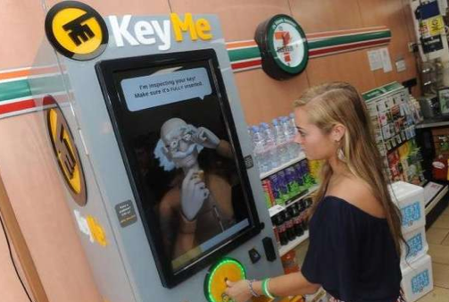 Key Cutting Kiosk