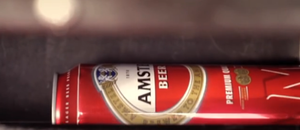 Amstel Pause Vending Machine: Photo Courtesy of Amstel Bulgaria YouTube