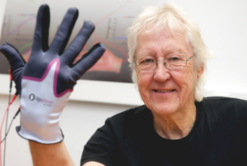 Stimulation Glove For Stroke Patients