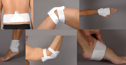 Actipatch battery powered electromagnetic medical device