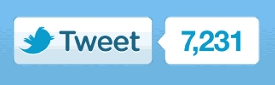 New Official Twitter Retweet button