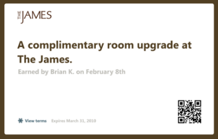 James Chicago / Flip.to Voucher For Hotel Guests