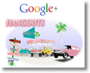 how to set up a google hangout text room
