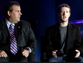 Governor Christie & Mark Zuckerberg