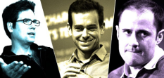 Biz Stone, Jack Dorsey & Ev Williams