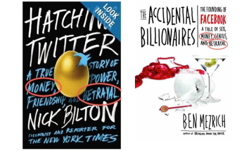 Hatching Twitter vs. The Accidental Billionaires