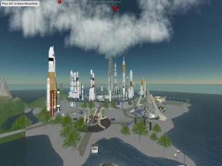 The world of Second Life: NASA actually gets funding here.