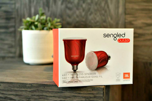 Sengled Pulse Smart Bulb: Light bulbs that act as Bluetooth speakers (image via Sengled Facebook)