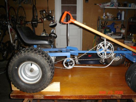 Kevin Blake's Pedal Plow: Inspired by Monster Garage