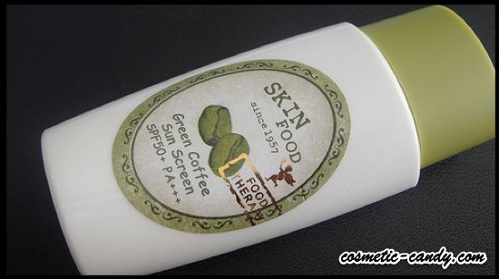 Skin Food Green Coffee Sunscreen: image via cosmetic-candy.com