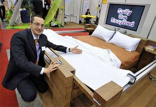 Sleep Technology: Selfy Self-Making Bed