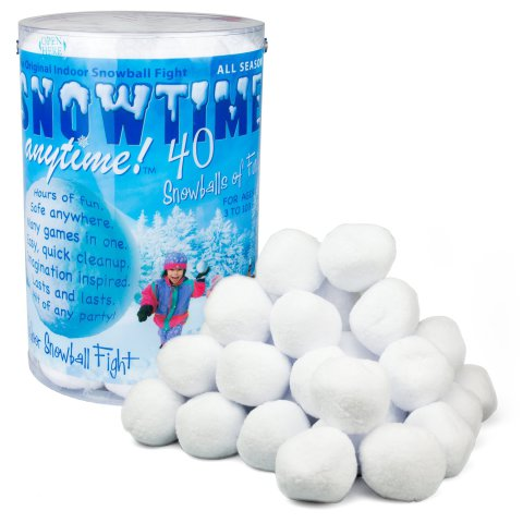 Snowtime Anytime Lets You Have A Snowball Fight Anytime