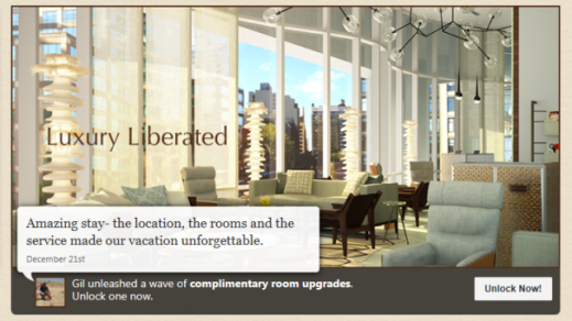 Booking Engine Integration & Complimentary Room Upgrade