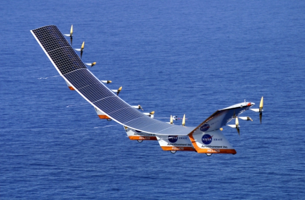 Solar Powered Drone: Source: Wikipedia