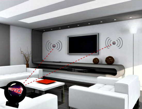 Glass Audio Speakers? With Soundpod, That's An Affirmative!: Turn almost any surface into a wireless speaker