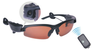 USB Spy Camera and MP3 Sunglasses