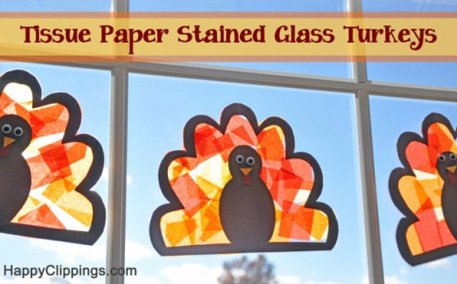 Stained Glass Turkey