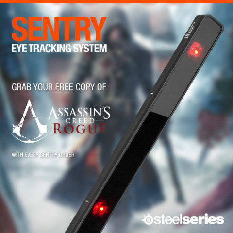 SteelSeries Sentry Eye-Tracking System: Image via Steelseries Facebook