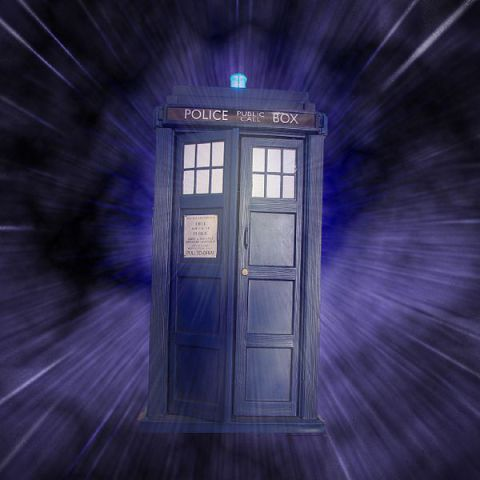 TARDIS (Photo by aussiegall/Creative Commons via Wikimedia)