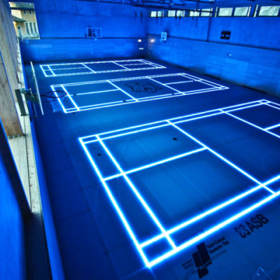 ASB GlassFloor Badminton Courts