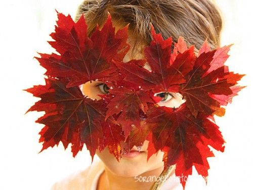 Thanksgiving Leaf Mask