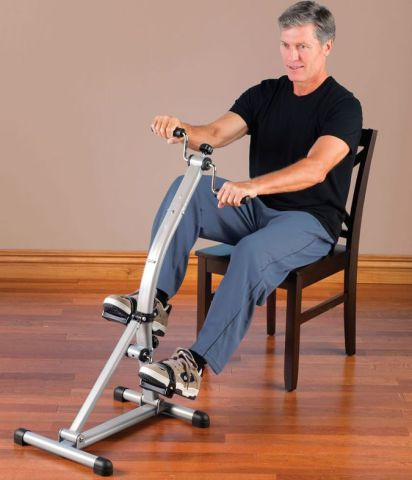 Seated Whole Body Pedaler: image via hammacher.com