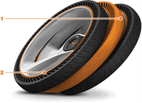 TiltRead Non-Pneumatic Tire by Hankook: Ground-breaking tire to change the face of racing