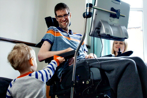 Tobii's Dynavox for Assisstive & Augmented Communication: Image courtesy of Tobii AB
