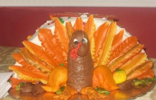 Epic Turkey Cake Fail
