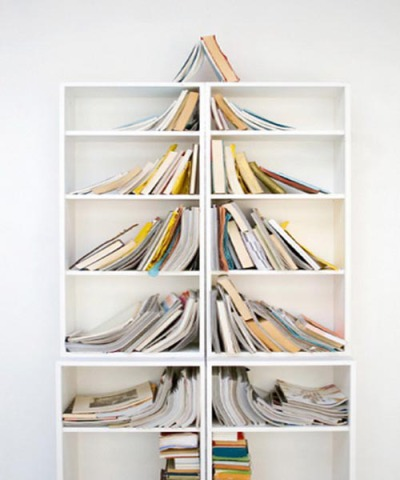 Book Shelf Christmas Tree
