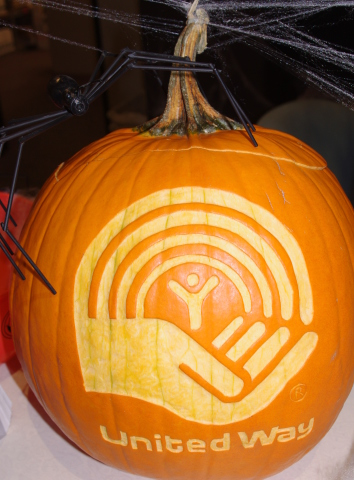 United Way Charity Pumpkin