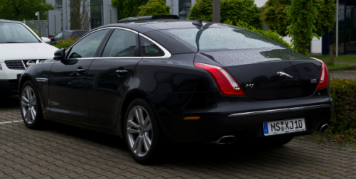 Unmelted Jaguar XJ