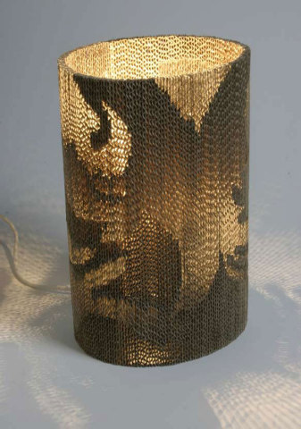 Flute Lamp (small):  Giles Miller