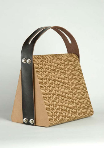 Brown Paper Handbag:  Giles Miller