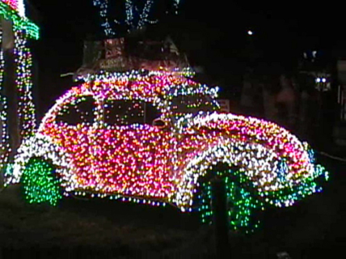 VW Christmas Car
