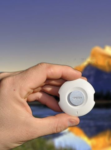 Kickstarter 2015: WEZR is a new weather sensor that gives you real-time, up to date weather forecasts on your smartphone.