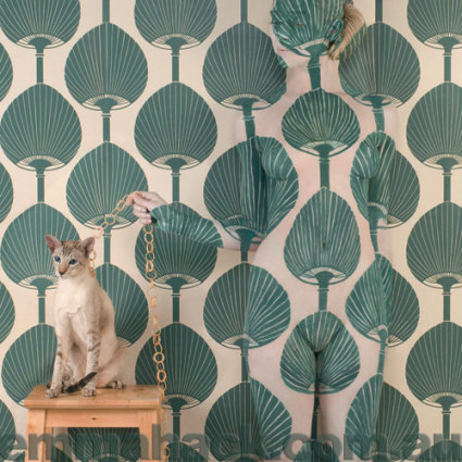 florence broadhurst wallpapers. Wallpaper designed by Florence Broadhurst, a designer in the 1930's,