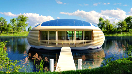 WaterNest Eco-Friendly Floating Home: Environmentally friendly