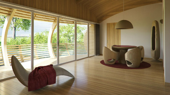 WaterNest Interior Design: There are several floor plans to choose from