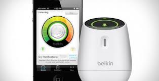 WeMo Baby Monitor: Monitor your baby from another room or even in the yard without having to carry another device.