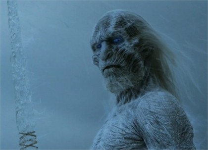 "White Walker from the ""Game of Thrones"""