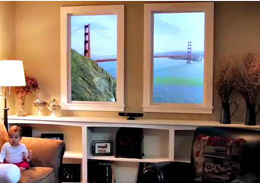 Winscape Virtual Windows: Wake up someplace different tomorrow morning