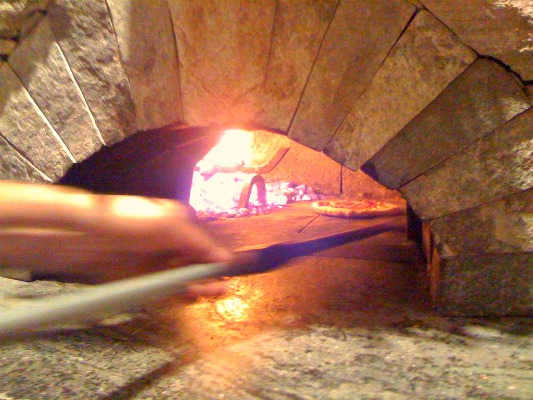Wood-burning brick pizza oven: Make delicious pizza every time