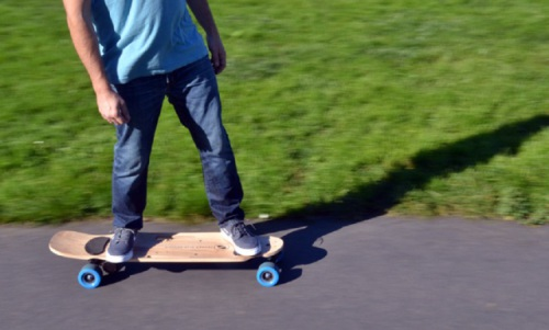 "INDIEGOGO 2015: ZBoard 2 and is hailed as ""the lightest, fastest, longest running weight-sensing electric skateboard ever on the market."""