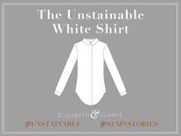 Unstainable White Shirt Poster: Source: Kickstarter