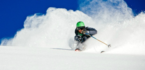 Skiing With SoulLite Poles