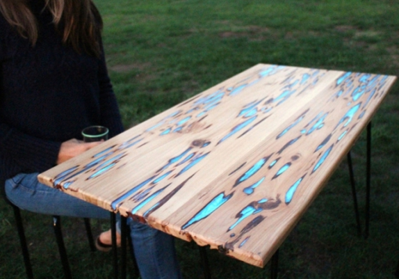 Glow Table (Image via Cool Things)